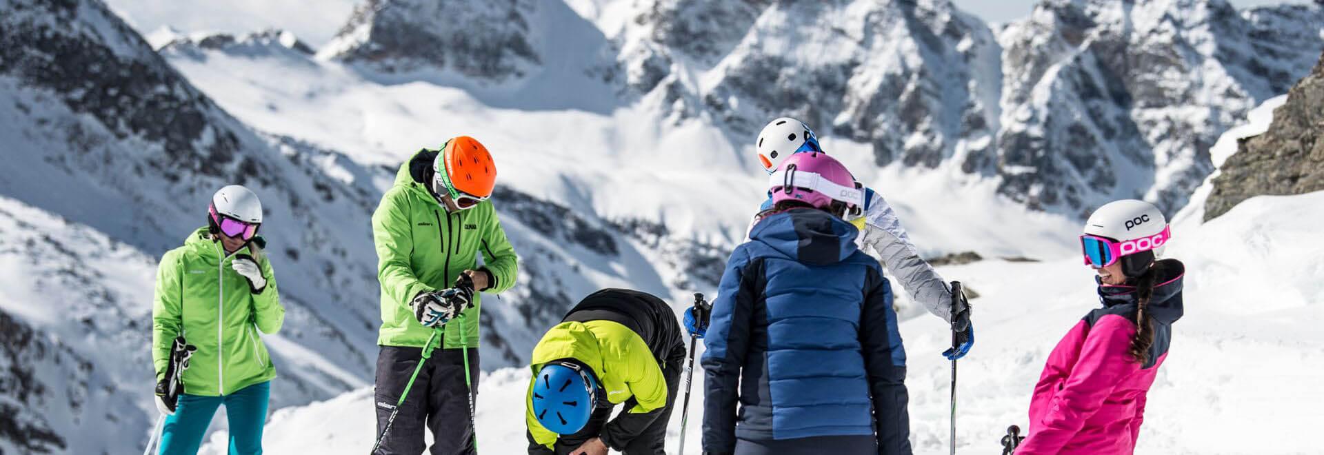 ski rental saalbach